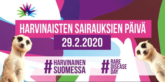 Harvinaisten sairauksien päivää vietetään 29.2 ja somessa Neuroliiton kampanjalla Harvinainen Suomessa.