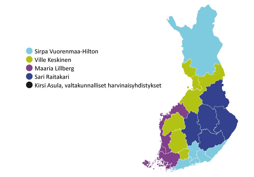 Neuroliiton järjestösuunnittelijoita ovat Sirpa Vuorenmaa-Hilton, Ville Keskinen, maaria Lillberg, Sari Raitakari sekä Kirsi Asula.