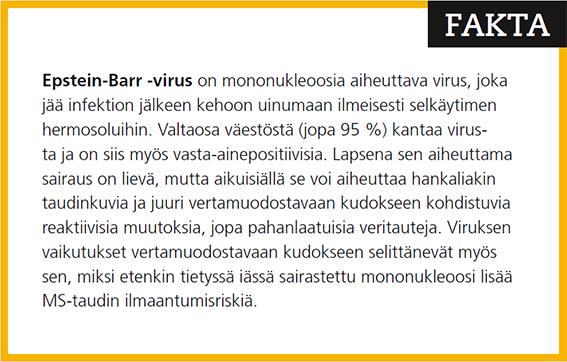 Tietoa Epstein Barrin viruksesta