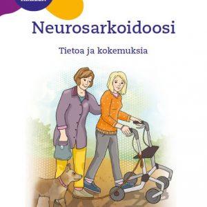 Oppaan kannessa teksti Neurosarkoidoosi – Tietoa ja kokemuksia.